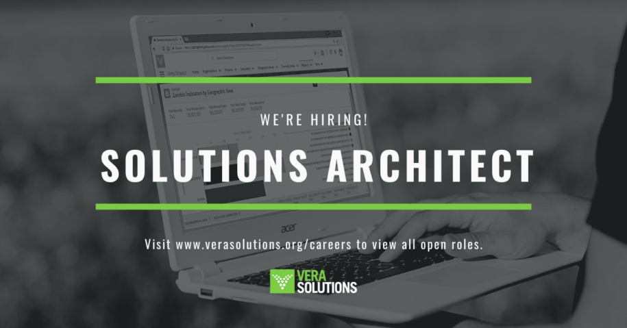 Solutions Architect   Vera Solutions